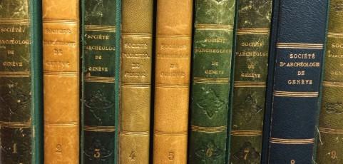 125 ans…Bulletin de la Société d'histoire et d'archéologie de Genève