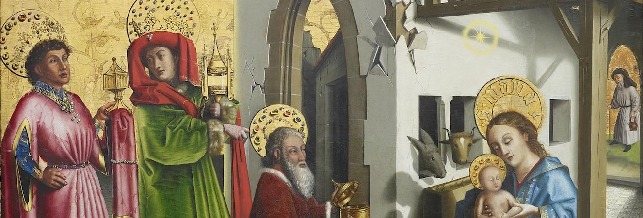 Konrad Witz : les volets de la cathédrale Saint-Pierre