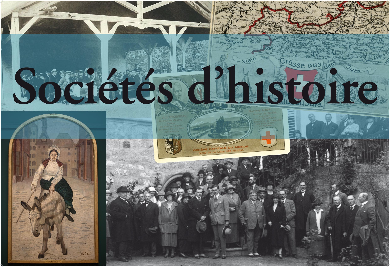 Les Sociétés d'histoire au Salon du livre de Genève…
