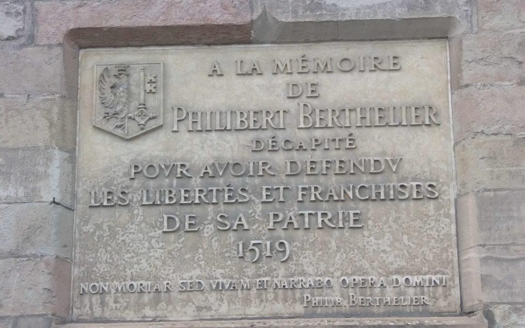 !! conférence reportée!! Philibert Berthelier et la construction d'une mémoire à la fin du Moyen Âge. Entre enjeux politiques et culte des martyrs.